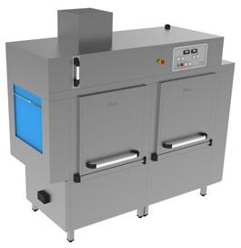 A-2160 Rack Conveyor Washer