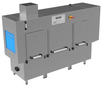 A-2820-T ECO Rack Conveyor Washer