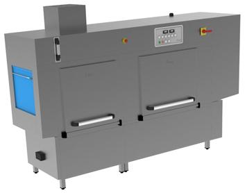 A-2980-T Rack Conveyor Washer