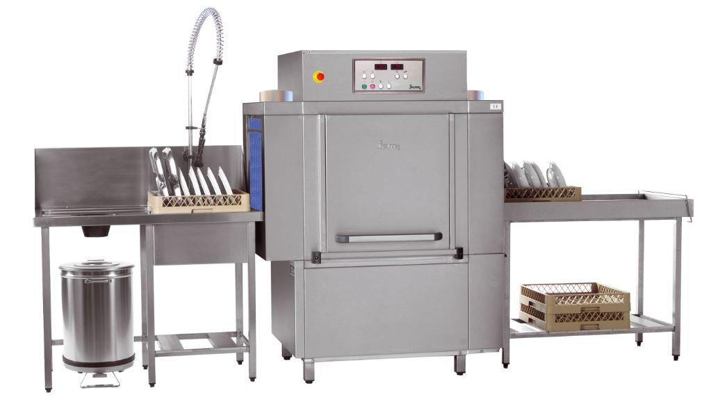 A-1280 Rack Conveyor Washer